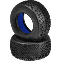 J Concepts 3D's Short Course Truck Tires, Blue Compound (2)