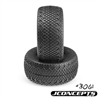 J Concepts 3D's Short Course Truck Tires, Green Compound (2)