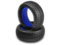 J Concepts 1/8th Buggy Metrix Tires, Blue Soft (2)