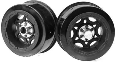 J Concepts Slash Rulux Rear Rims, Black (2)