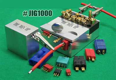 The Jigs Up Rc Connectors, Soldering Jig