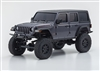 Kyosho Mini-Z Jeep Wrangler Rubicon RTR Crawler, Granite Metallic