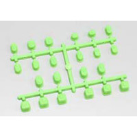 Kyosho Mp9 Suspension Bushing Set, Green