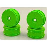 Kyosho Mp9 Dish Wheels, Fl Green (4)