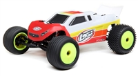 Losi 1/18 Mini-T 2.0 2WD Brushless Stadium Truck RTR, Red/White