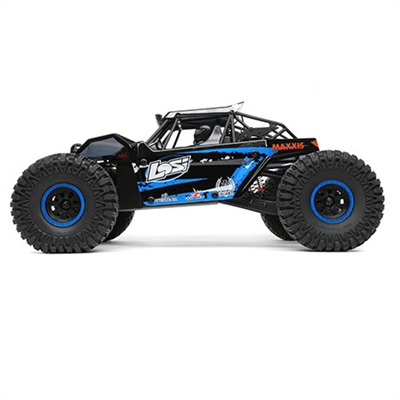 Losi 1/10th 4wd Rock Rey RTR with AVC and blue body