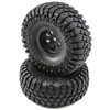 Losi Rock Rey Maxxis Creepy Crawler LT Tires Mounted on Black Rims (2)