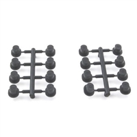 Losi 8B/8T 2.0/3.0 Adjustable Hinge Pin Brace Inserts