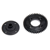 Losi 8ight-E 4.0 Center Diff Spur Gear, plastic-44 tooth