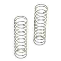 "Losi Shock Springs-2.5"", silver-3.4 rate (2)"