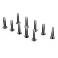 "Losi 5-40 x 5/8"" Flat Head Screws (10)"