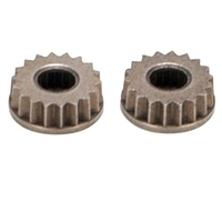 Losi Metal Servo Arm Inserts-23 Spline, Jr (2)