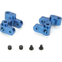 Losi Mini-Slider Spindle Carrier Set, blue aluminum (2)