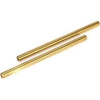 Losi 5ive-T Front/Rear Inner Hinge Pins, Ti-Nitrided (2)