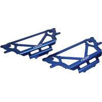 Losi Night Crawler Chassis Plate Set, Blue