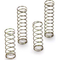 Losi Ten Rally-X/Ten-SCTE Front And Rear Springs-Hard Gold (4)