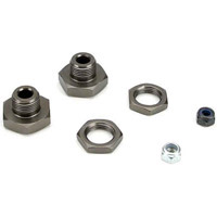 Losi LST 20mm Wheel Hex Hubs, Hard Anodized Aluminum (2)