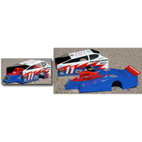 McAllister East Coast Dirt Modified (EDM) Clear Body, requires painting