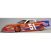 McAllister Milwaukee 1/10th Late Model Dirt Oval Clear Body, requires painting