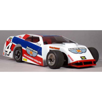 McAllister 1/18th Heartland IMCA Mod Clear Body with decals, requires painting