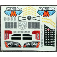 McAllister Dodge Charger Decals