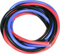 Much More Racing 16 Awg Silver Wire Set, 180cm Ea. Red, Blue, Black