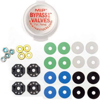 M.I.P. Bypass1 Shock Piston Kit For TLR Ten-SCTE 2.0 Truck