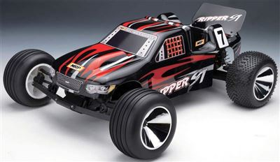 MRP Ripper St 1/10 Electric Race Truck RTR with 17 turn  motor, black