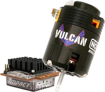 Novak Impact Brushless System With 17.5T Vulcan Racing Motor
