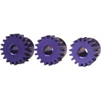 Novak Mod 0.5 Aluminum Pinion Gear Set, 17t/18T/19t