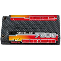 Orion 7500mAh Carbon Pro 110c Lipo 3.8v 1S Battery with tubes