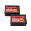 Orion Carbon Pro V-Max 7.6V 6600mAh 110C 2S LiPo Battery, Saddle with 4mm Tubes