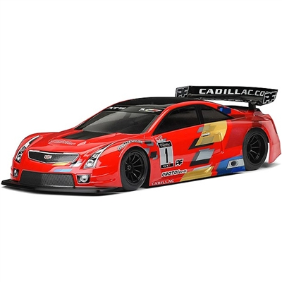 Proto-Form Cadillac ATS-V.R 200mm Clear GT-R Body, requires painting