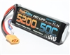 Power Hobby 5200mAh 11.1V 3S 50C LiPo Battery with Hardwired XT90 Connector