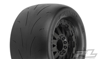 "Pro-Line Prime 2.8"" Tires Mounted on Black F-11 12mm Traxxas Rims (2)"