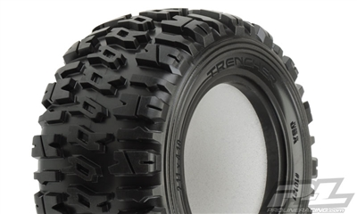 "Pro-Line Trencher T 2.2"" Truck Tires with inserts (2)"