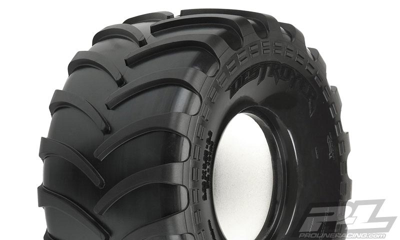 Monster Truck Tires >> Pro Line Destroyer 2 2 M3 Soft Truck Tires With Inserts 2