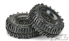 "Pro-Line Interco Bogger 1.9"" G8 Tires Mounted on Impulse Black Plastic Wheels (2)"