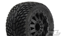 "Road Rage 2.8"" Street Tires on TRX Electric/Nitro Rims (2)"