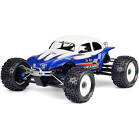 Pro-Line Maxx/Revo Long Chassis Baja Bug Clear Body, requires painting