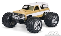 Pro-Line 1980 Chevy Blazer Clear Body for E-Maxx, E-Revo