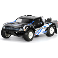 Pro-Line Slash 4x4 F150 Ford Raptor Clear Body, requires painting