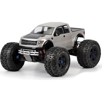 Pro-Line Maxx F150 SVT Ford Raptor Clear Body, requires painting