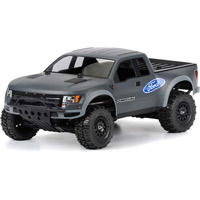 Pro-Line True Scale Ford F150 Raptor SVT Clear Body for SC10/Slash
