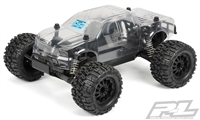 Pro-Line Sentinel Clear Body for Pro-Line PRO-MT 4x4, requires painting