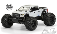 Pro-Line Pro-MT 2017 Ford F150 Raptor Clear Body, requires painting
