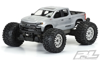 Pro-Line Stampede 4x4/Pro-MT 4x4 2019 Chevy Silverado Z71 Trail Boss Clear Body, requires painting