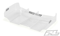 "Pro-Line Air Force 2 Lightweight 6.5"" Clear Rear Wing with Center Fin for 1:10 Buggy"