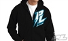 Pro-Line Bolt Black Zip-Up Hoodie, large
