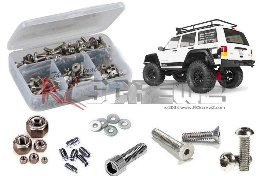 R/C Screwz SCX10 II Jeep Cherokee Stainless Steel Screw Set